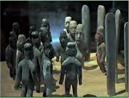 Olmec jade cache