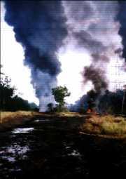 Oilspillfireatelume